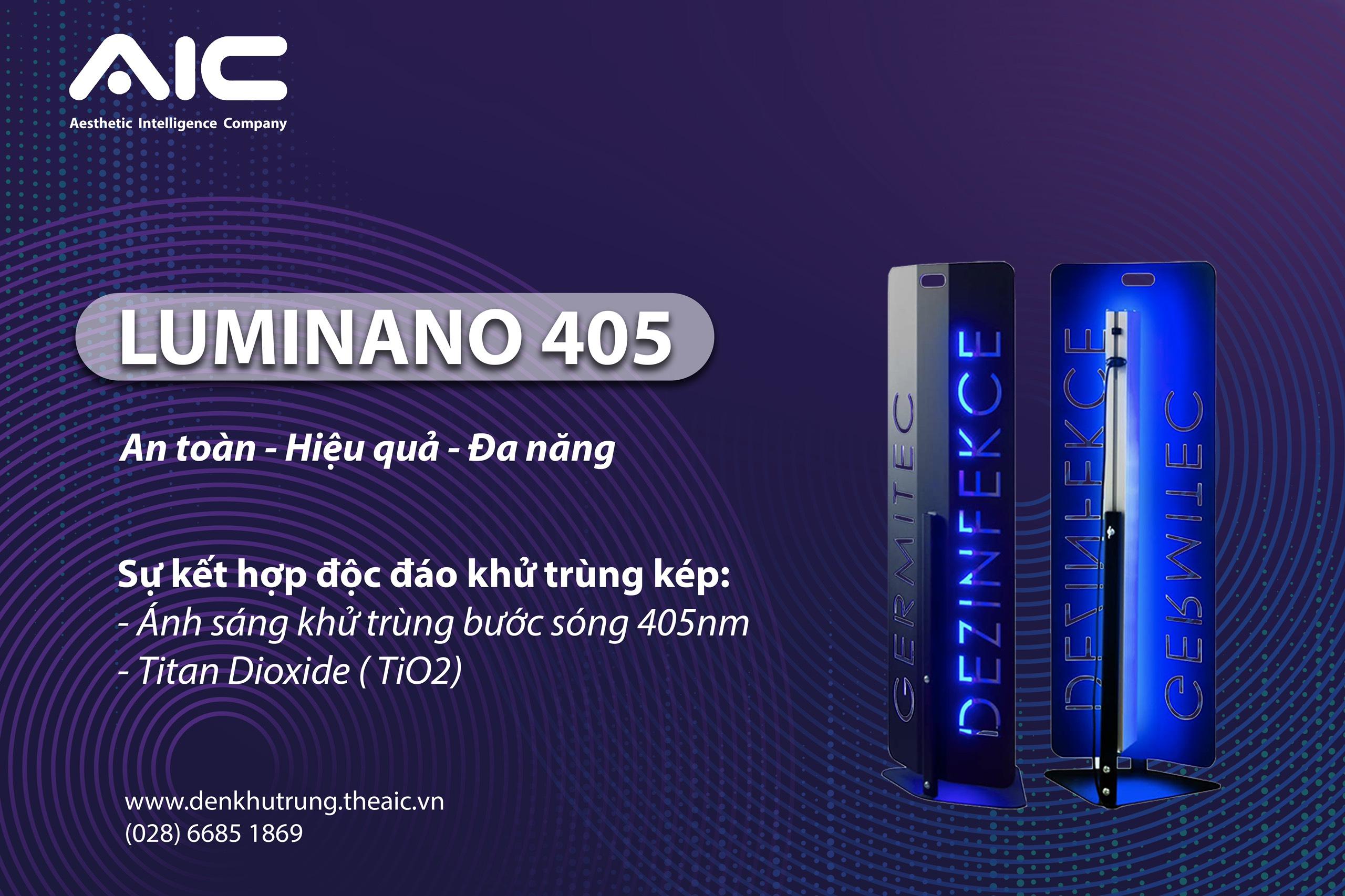 đèn khử trùng luminano 405